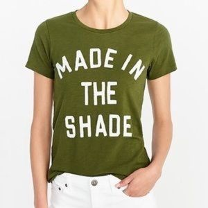 J.Crew Collectors T-shirt Made in the Shade